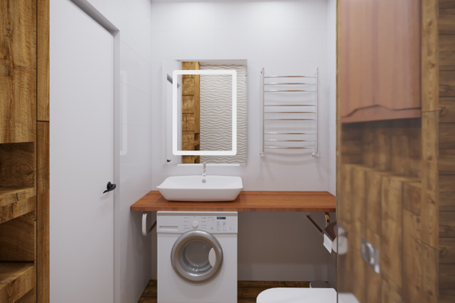 Дизайн ванной комнаты 7 - kwork.ru