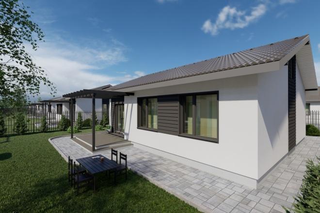 Фотореалистичная 3D визуализация экстерьера Вашего дома 103 - kwork.ru