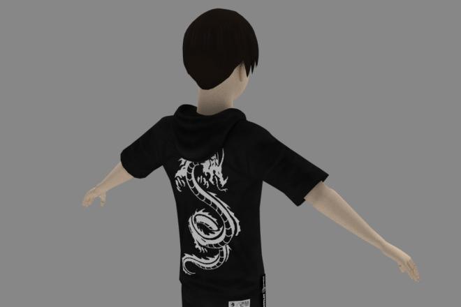 3D персонаж для игрового проекта 12 - kwork.ru