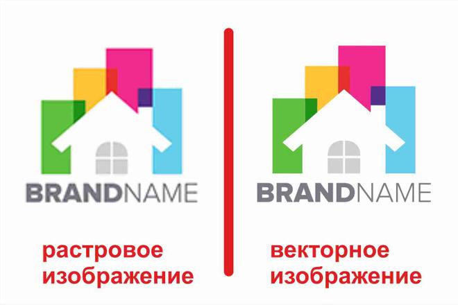 Перевод растрового изображения в вектор 2 - kwork.ru