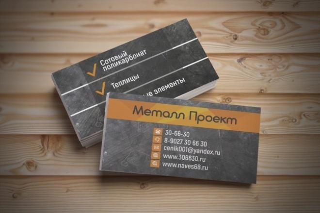 3 варианта дизайна визитки 94 - kwork.ru