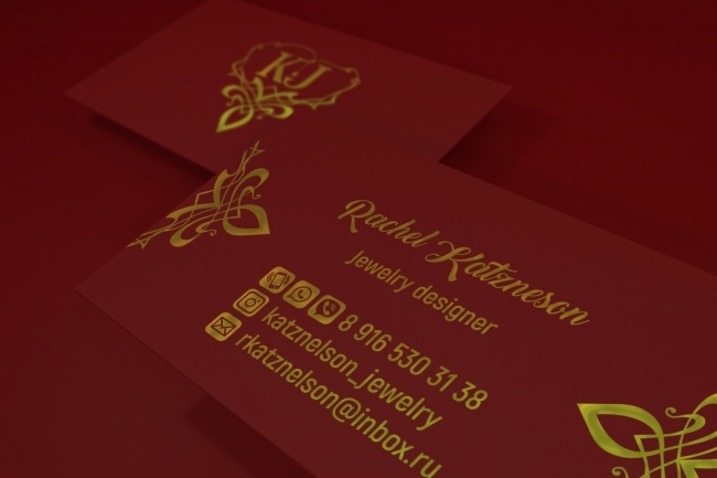 3 варианта дизайна визитки 99 - kwork.ru