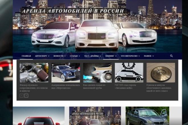 Создам автонаполняемый сайт на WordPress, Pro-шаблон в подарок 10 - kwork.ru