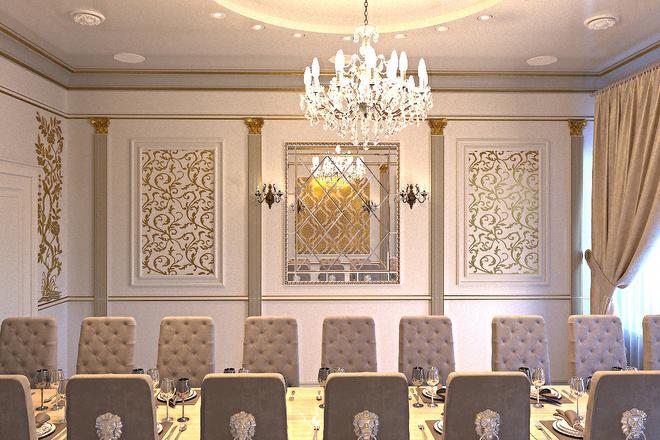 Создам визуализацию банкетного зала 2 - kwork.ru