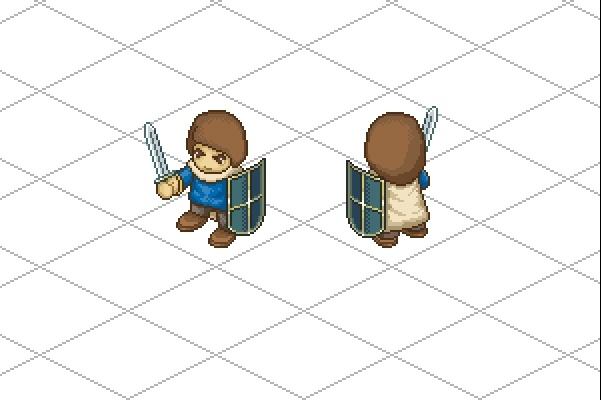 Пиксельная графика и анимация для игр. Персонажи 5 - kwork.ru