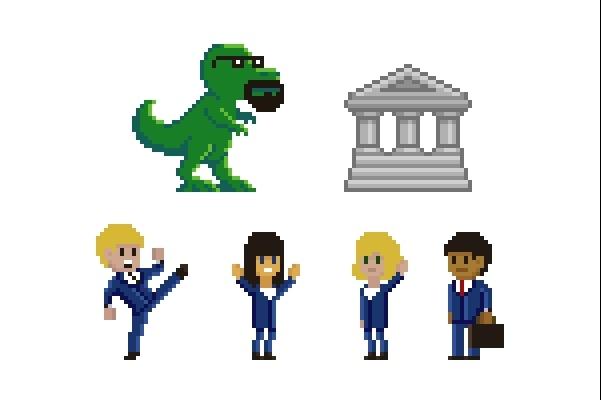 Пиксельная графика и анимация для игр. Персонажи 4 - kwork.ru