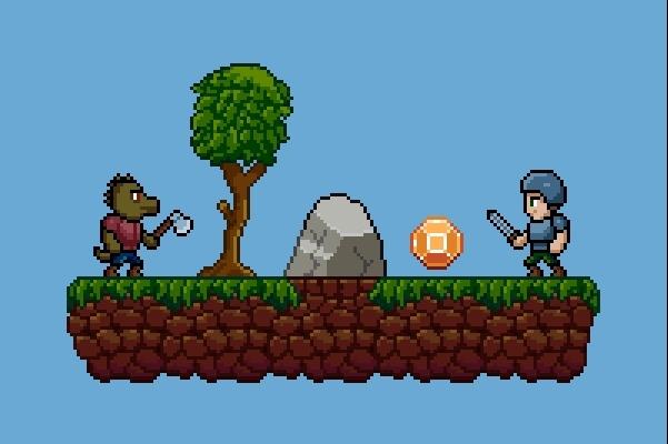 Пиксельная графика и анимация для игр. Персонажи 3 - kwork.ru