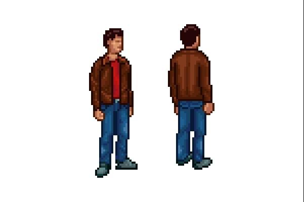 Пиксельная графика и анимация для игр. Персонажи 1 - kwork.ru