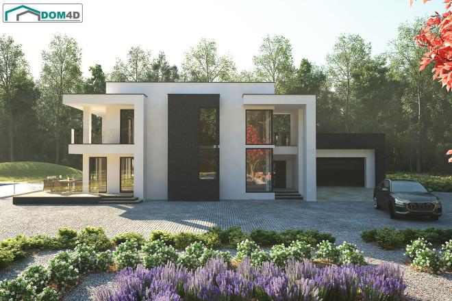 Качественная 3D визуализация фасадов домов 6 - kwork.ru