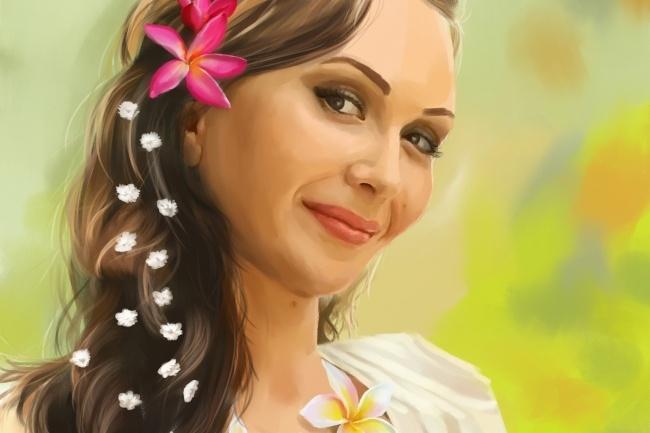 Рисую цифровые портреты по фото 36 - kwork.ru