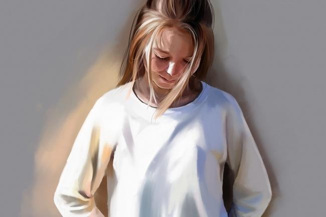 Рисую цифровые портреты по фото 32 - kwork.ru