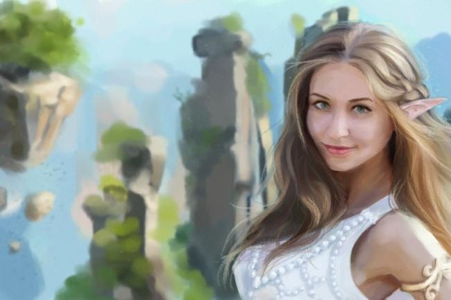 Рисую цифровые портреты по фото 29 - kwork.ru