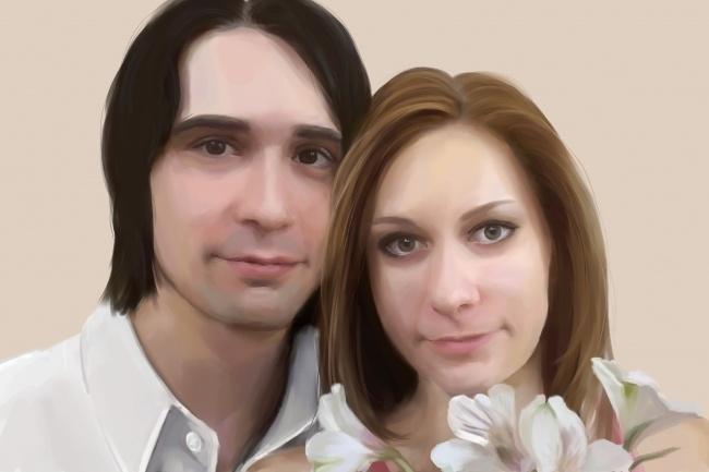 Рисую цифровые портреты по фото 24 - kwork.ru