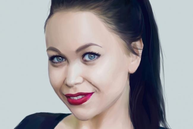 Рисую цифровые портреты по фото 21 - kwork.ru