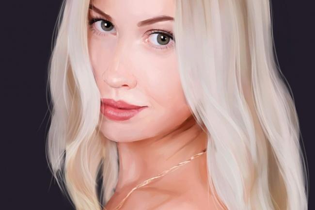 Рисую цифровые портреты по фото 20 - kwork.ru