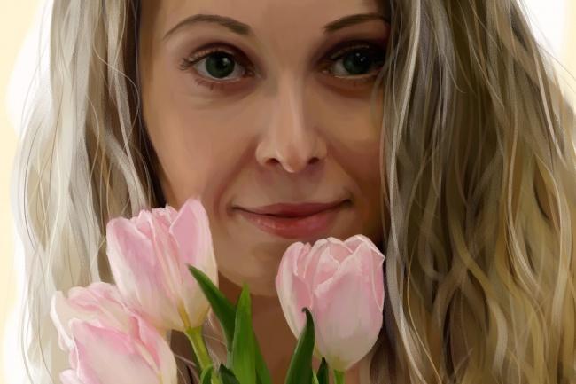 Рисую цифровые портреты по фото 45 - kwork.ru