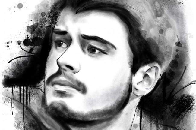 Рисую цифровые портреты по фото 15 - kwork.ru