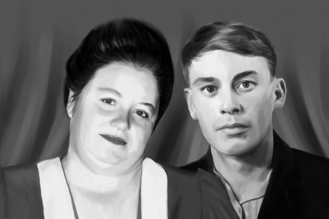 Рисую цифровые портреты по фото 43 - kwork.ru