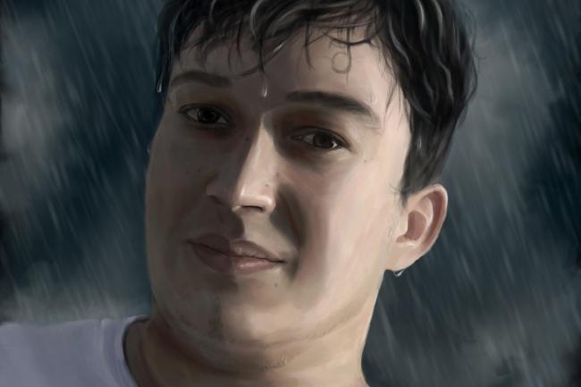 Рисую цифровые портреты по фото 40 - kwork.ru