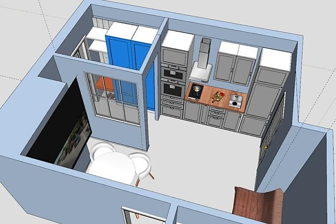 3D модель 4 - kwork.ru
