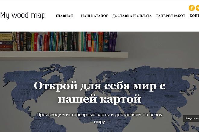Создание сайта - Landing Page на Тильде 61 - kwork.ru
