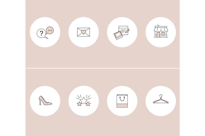 Оформление профиля Инстаграм. Уникальный дизайн в Instagram 10 - kwork.ru