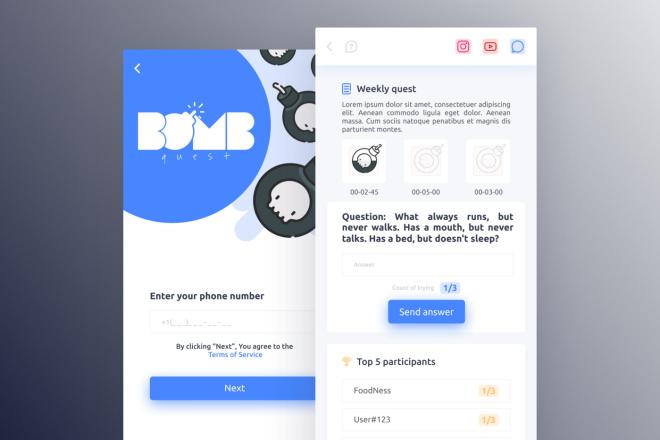 Дизайн Вашего приложения. iOS и Android 18 - kwork.ru