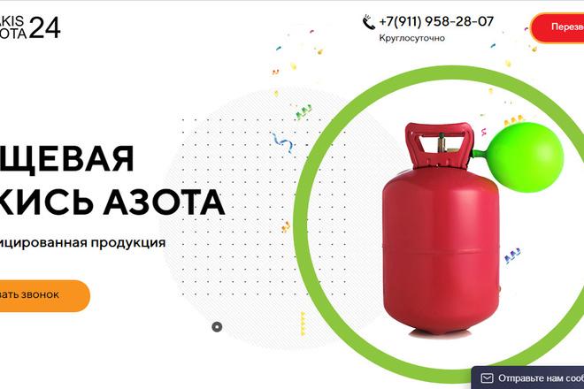 Качественная копия лендинга с установкой панели редактора 1 - kwork.ru