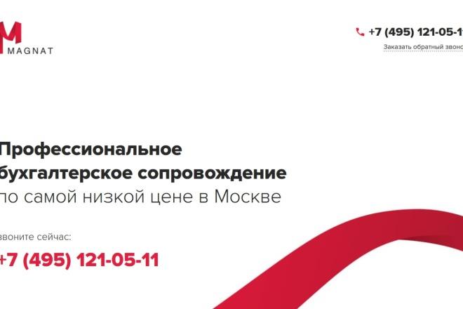 Копирование лендингов, страниц сайта, отдельных блоков 3 - kwork.ru