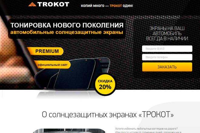 Скопирую Landing page, одностраничный сайт и установлю редактор 29 - kwork.ru