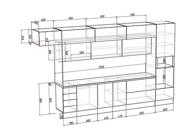 Конструкторская документация для изготовления мебели 57 - kwork.ru