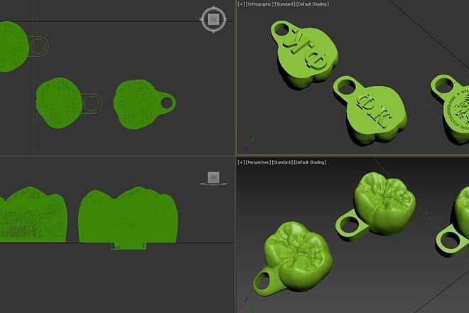 3D модель и визуализацию торгового места 6 - kwork.ru