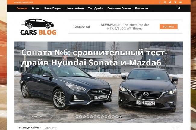 Создам автонаполняемый сайт на WordPress, Pro-шаблон в подарок 29 - kwork.ru