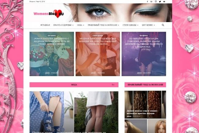 Создам автонаполняемый сайт на WordPress, Pro-шаблон в подарок 30 - kwork.ru
