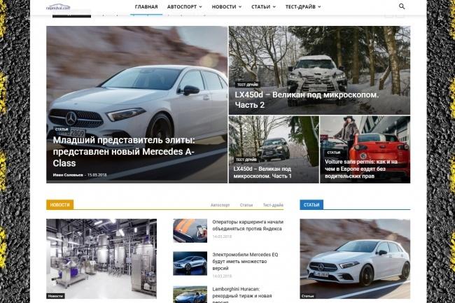 Создам автонаполняемый сайт на WordPress, Pro-шаблон в подарок 27 - kwork.ru