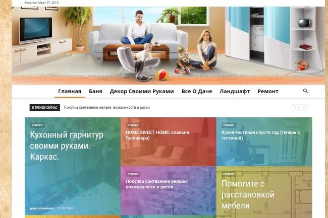 Создам автонаполняемый сайт на WordPress, Pro-шаблон в подарок 24 - kwork.ru