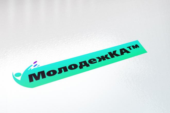 Логотип в 3 вариантах, визуализация в подарок 78 - kwork.ru