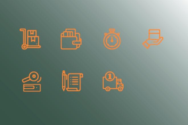 Нарисую иконки для сайта 34 - kwork.ru