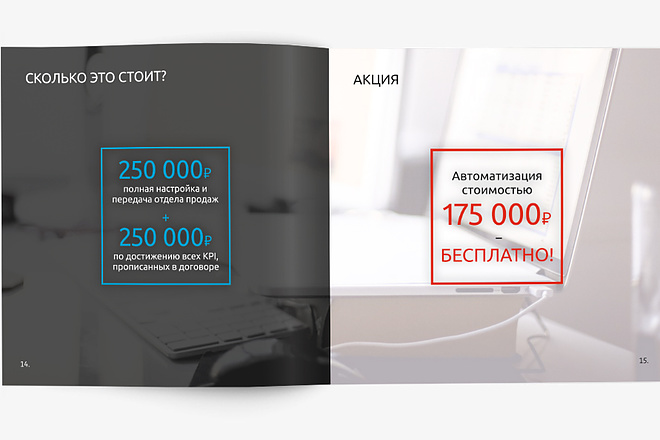Разработаю Маркетинг Кит, для личных встреч и рассылки 76 - kwork.ru