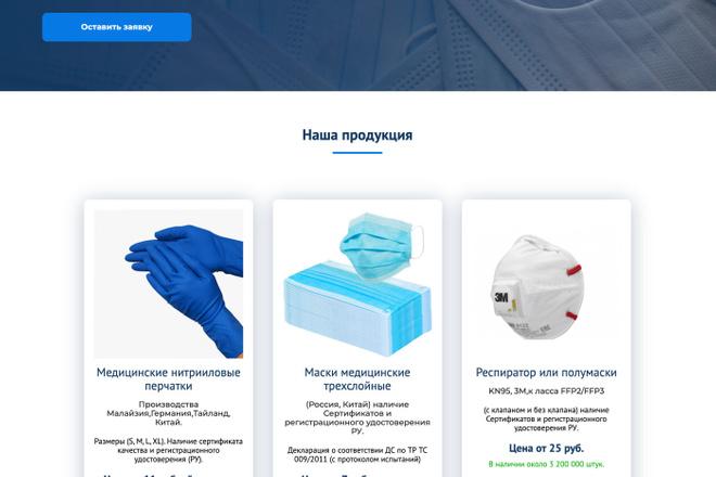 Landing Page с 0 + дизайн 2 - kwork.ru