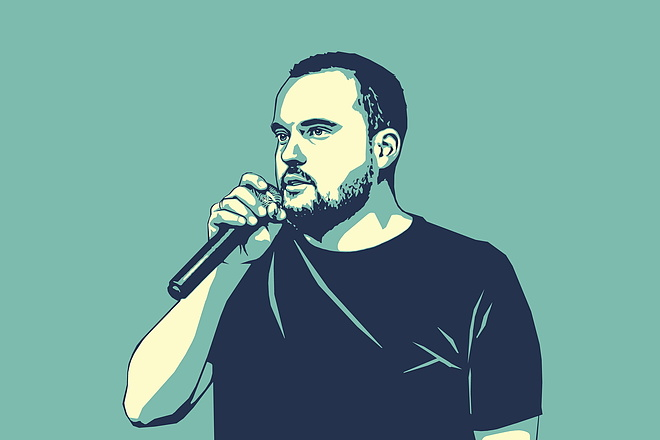 Качественный поп-арт портрет по вашей фотографии 18 - kwork.ru