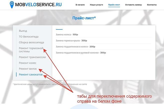 Лендинг для любых целей на Wordpress 51 - kwork.ru