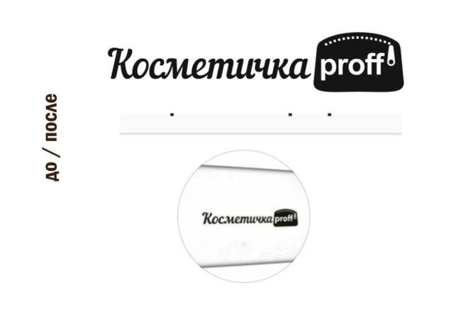 Переведу в вектор логотип по Вашему рисунку, качественно и быстро 1 - kwork.ru