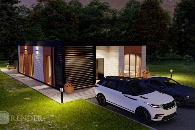 Фотореалистичная 3D визуализация экстерьера Вашего дома 31 - kwork.ru