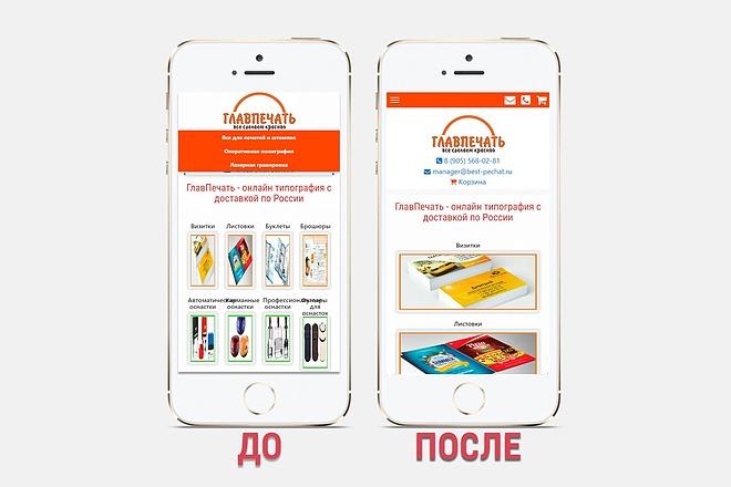 Адаптация сайта под все разрешения экранов и мобильные устройства 38 - kwork.ru