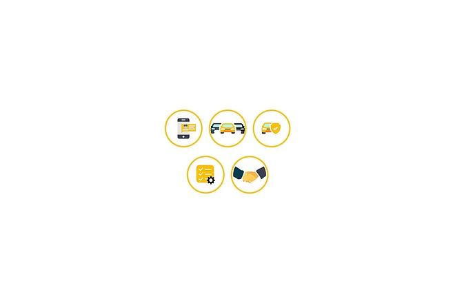 Создам 5 иконок в любом стиле, для лендинга, сайта или приложения 34 - kwork.ru