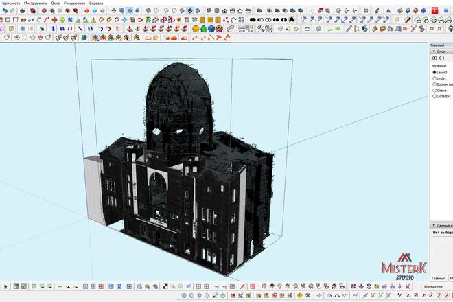Моделирование и визуализация зданий 33 - kwork.ru
