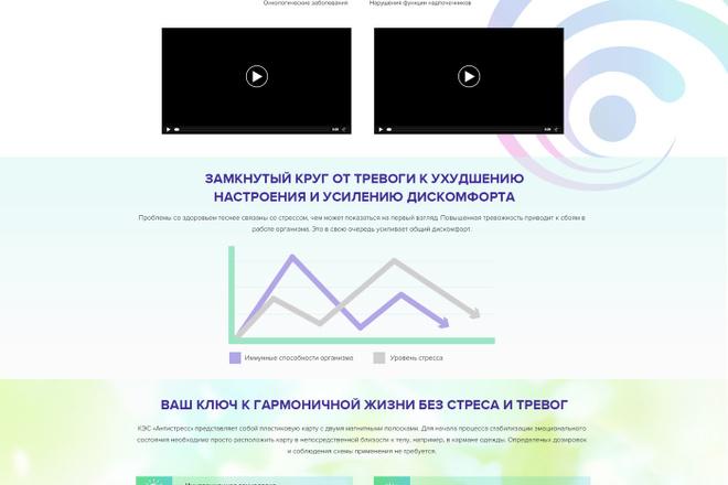 Дизайн страницы Landing Page - Профессионально 70 - kwork.ru