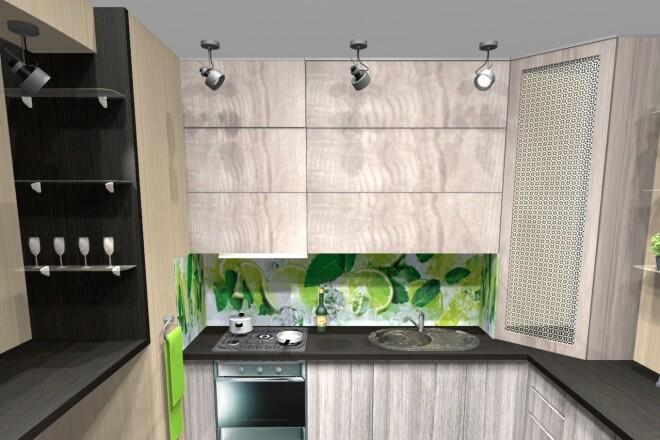 Проектирование корпусной мебели 26 - kwork.ru
