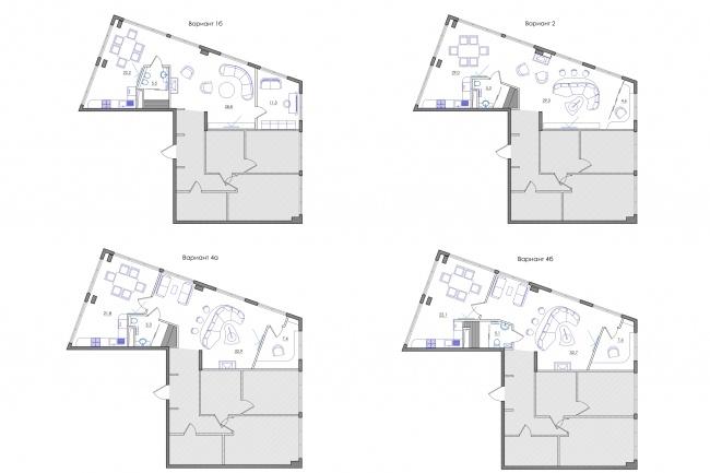 Планировка квартиры или жилого дома, перепланировка и визуализация 97 - kwork.ru